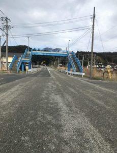 吹浦歩道橋
