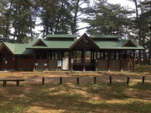 西浜キャンプ場炊事場