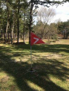 グランドゴルフの旗