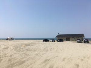 西浜海岸駐車場