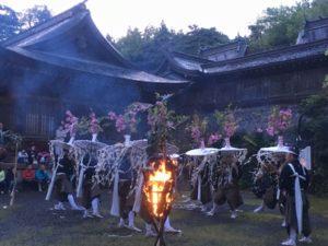 宵祭り花笠舞1