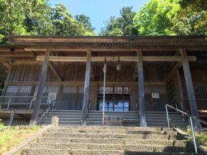 大物忌神社下拝殿