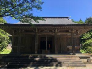 大物忌神社拝殿