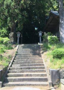 本殿への石段1