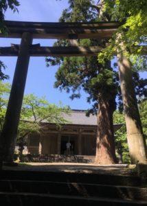 大物忌神社三の鳥居