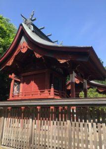 月山(つきやま)神社本殿