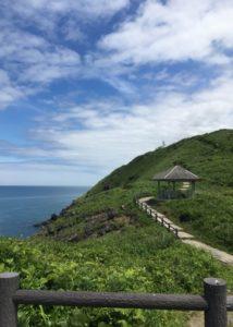 三崎公園遊歩道美しい景色