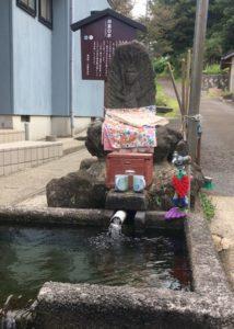 神泉の水の不動様