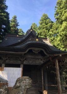 熊野神社斜め