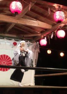 杉沢比山番楽の「番楽」の舞
