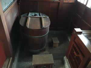 旧青山本邸の風呂場