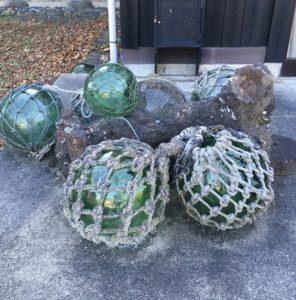 漁具の浮き玉